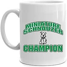Eddany Miniature Schnauzer Champion Mug