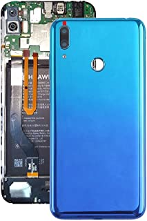 Battery cover Jrc Battery Back Cover with Camera Lens & Side Keys for Huawei Y7 Prime (2019)(Blue) Mobile phone accessorie...
