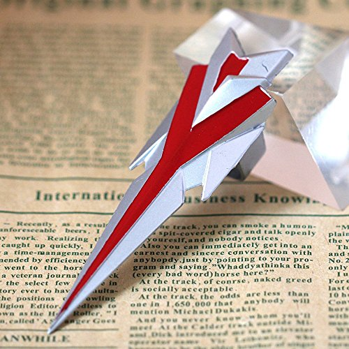LOL League of Legends Talon Alloy Weapon Model Cosplay Rings (Silver+Red)