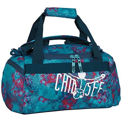 Chiemsee Unisex-Erwachsene Sporttasche Matchbag X-Small Reisetasche, Dusty Flowers, 44 x 21.5 x 22 cm, 20 Liter