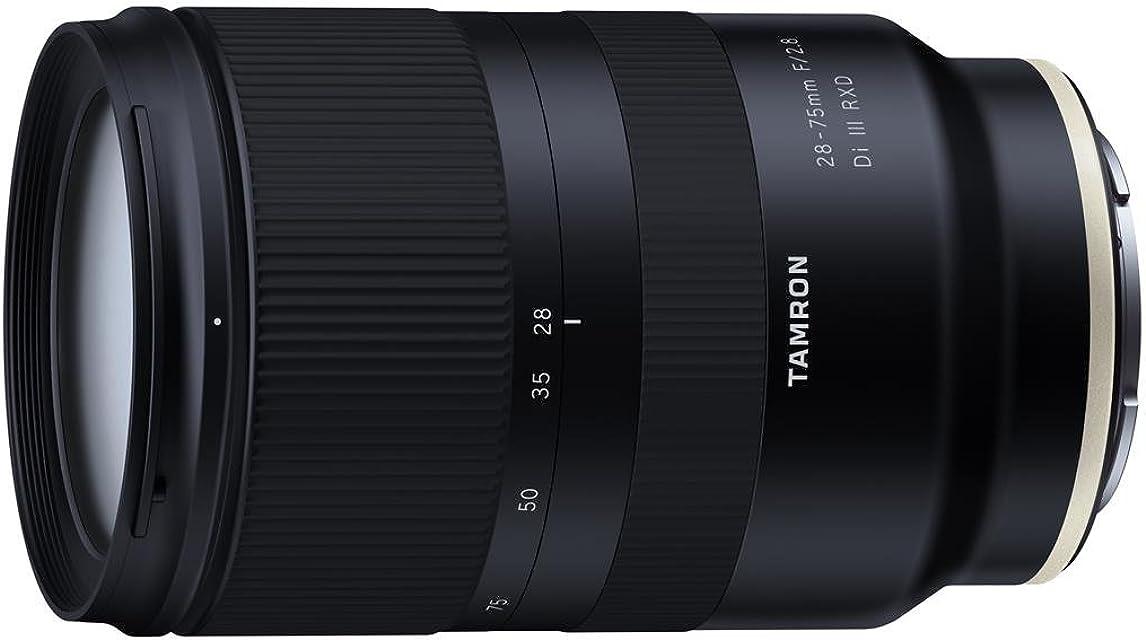 Tamron A036SF - Objetivo 28-75mm F/2.8 Di III RXD para cámara Sony E full frame color negro