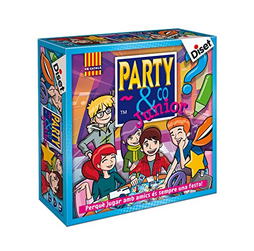Diset- Party & Co. Junior Juego de Mesa, Multicolor (10105)