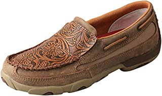 Twisted X Women's Eco TWX Slip-On Driving Moccasins Moc Toe