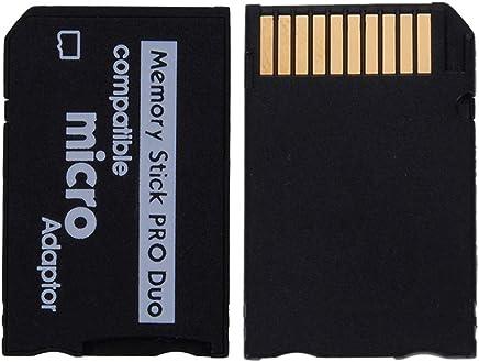 YOKELLMUX メモリースティックカード PRO Duo 変換アダプタ SONYのデジタルビデオカメラ、デジタルカメラ、携帯電話、PSPゲーム機などに対応