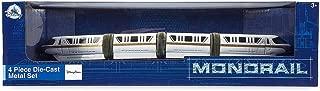 Disney Parks Exclusive Monorail 4-Piece Die Cast Metal Set