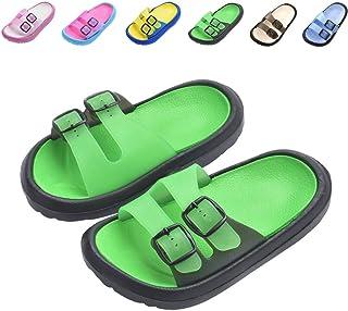 57cec49ebfc99 Toddler Little Kids Summer Sandals Non-Slip Boy Girl Slide Lightweight Beach  Water Shoes Shower