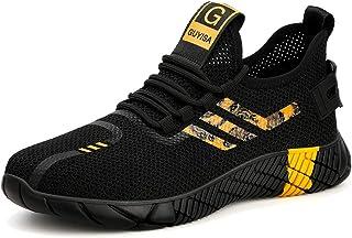 Veligheidsschuoenen Heren Dames Werkschoenen Safety Shoes S3 Lichtgewicht Ademend Sportief Beschemende Schoenen Stalen Neu...
