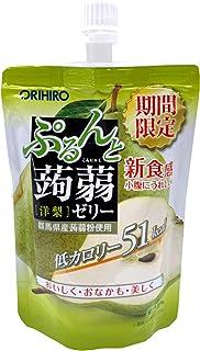 Orihiro Purun To Konnyaku Jelly Pear, 130 g
