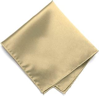 champagne color pocket square