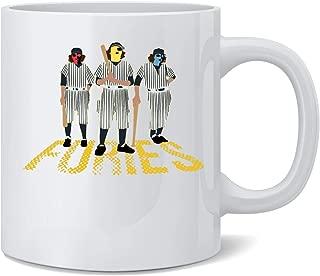Poster Foundry Baseball Furies Minimalist 70s Coffee Mug Tea Cup 12 oz