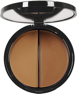 EVE PEARL HD 50:50 Dual Foundation Full Coverage Long Lasting Lightweight Texture Vitamin E Skincare (Dark)