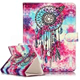 Azpen A1050 10.1 Inch Tablet Universal Case,PU Leather Folio Stand Case Flip Wallet Protective Cover with Card Slots for Azpen A1050 10.1 Inch Tablet (windbell)