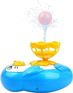 OUZHOU Vattentät tätning modell spray vatten leksak underbar flytkraft bad leksak tecknad duschspray vatten leksak elektri...