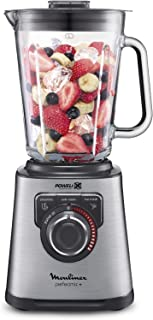 Moulinex Perfect Mix+ LM811D - Batidora de vaso de 1200 W, v