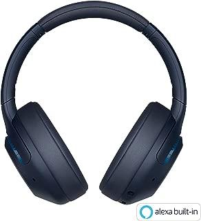 ソニー SONY ワイヤレスノイズキャンセリングヘッドホン WH-XB900N : 重低音モデル / Amazon Alexa対応 / bluetooth / 最大30時間連続再生 2019年モデル ブルー WH-XB900N L