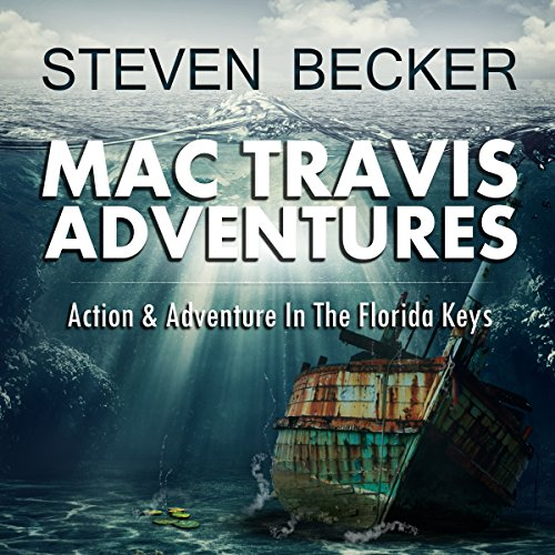 Mac Travis Adventures Box Set, Books 1-4 audiobook cover art