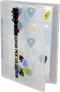 UniKeep Guitar Pick Collection Kit - Holds 225 Picks - Clear Case