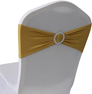 Best gold chair bands Reviews