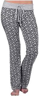 Women's Roses BG Allover Print Drawstring Lounge Pants, Gray