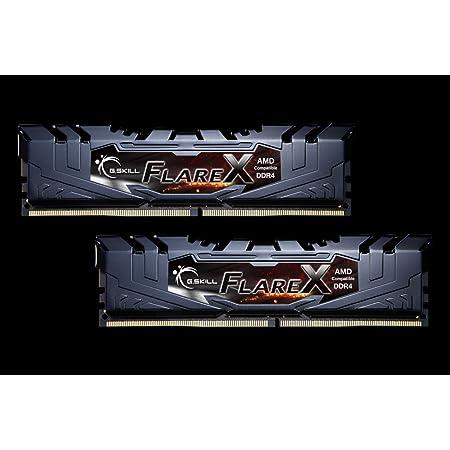G.Skill DDR4メモリ DDR4-3200 16GBKit(8GB×2枚組)AMD Ryzen用メモリ 国内正規品 OVERCLOCK WORKS購入限定特典ステッカー付き F4-3200C16D-16GFX