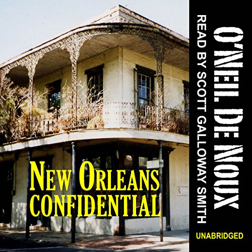 New Orleans Confidential audiobook cover art
