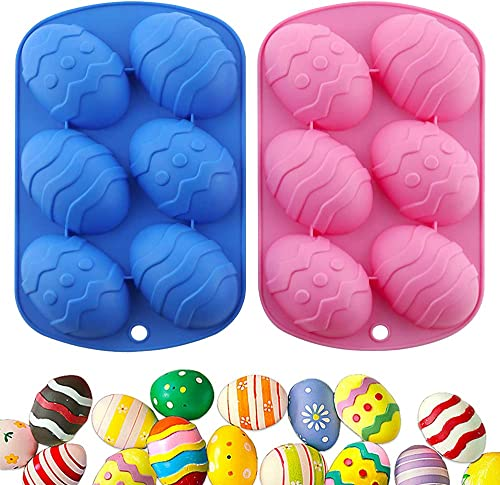 new arrival DaPlug Easter Egg online sale Silicone Chocolate Mold Rabbit Shaped, 3D Rabbit Easter Baking Molds for DIY Candy Chocolate outlet online sale Jelly Fondant Making outlet online sale
