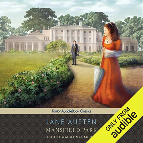 Mansfield Park audiobook cover art