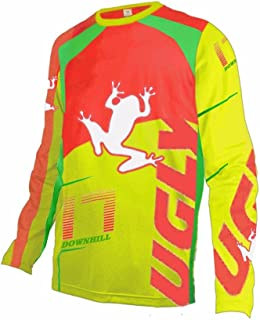 Uglyfrog MT04 Designs Bike Wear Men's Downhill Jersey Rage MTB Cycling Top Cycle Motocross Mountain Bike Shirt