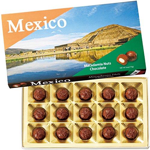メキシコ 土産 メキシコ マカデミアナッツチョコレート 1箱 (海外旅行 メキシコ お土産)