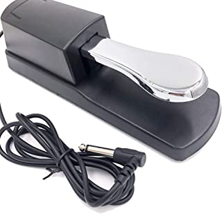 SOKOYO Universal Sustain Pedal with Piano Style Action for MIDI Keyboards Digital Pianos and More