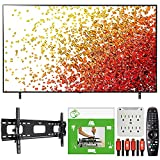 LG 86NANO75UPA 86 Inch Nanocell LED 4K UHD Smart webOS TV (2021) Bundle with TaskRabbit Installation Services + Deco Gear Wall Mount + HDMI Cables + Surge Adapter