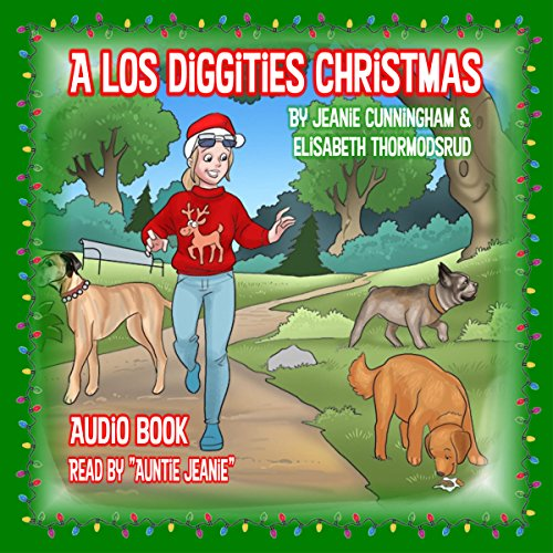 A Los Diggities Christmas audiobook cover art