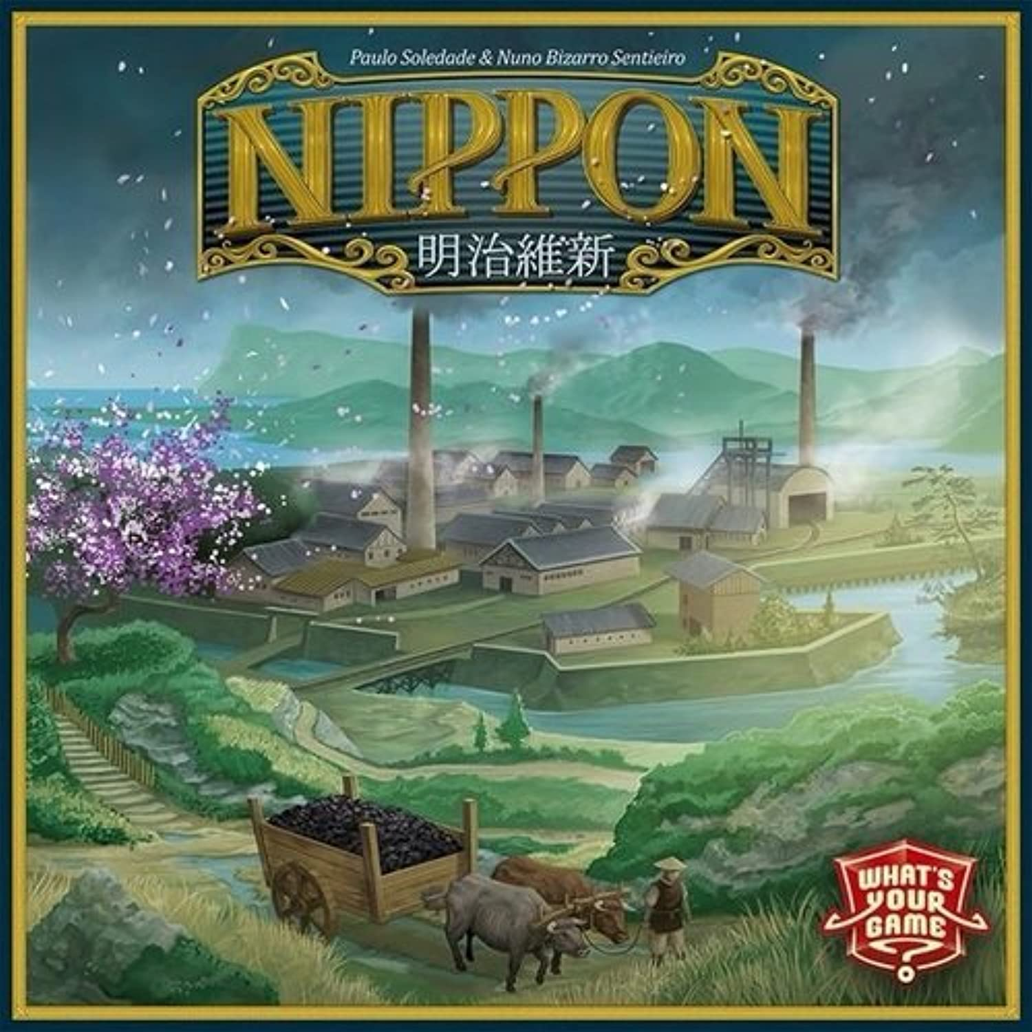 Unbekannt What's Your Game WYG00006 Brettspiel Nippon