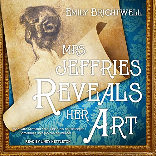 Mrs. Jeffries Reveals Her Art audiobook cover art