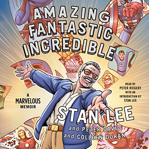 Amazing Fantastic Incredible audiobook cover art