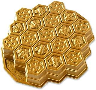 Nordic Ware 91277/Geo Bundtlette pan alluminio oro