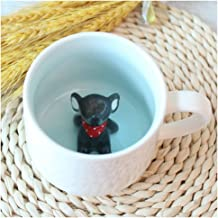 Surprise 3D Cartoon Miniature Animal Coffee Cup Mug with Baby Elephant Inside - Best Office Cup & Christmas Gift (Elephant)