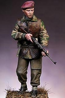 1/16 120Mm Brytyjski Żołnierz Komandosów 120Mm Historyczny Model Figurki Z Żywicy Zestaw Miniatur Unassambled Niepomalowany