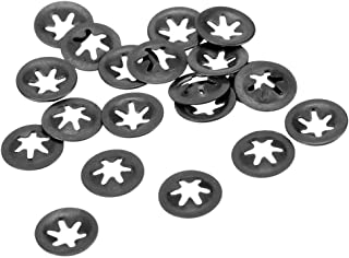 Pack of 40 M3x9 Assortment Kit for Internal Tooth Pressure Washer Clip Clips Starlock Washers