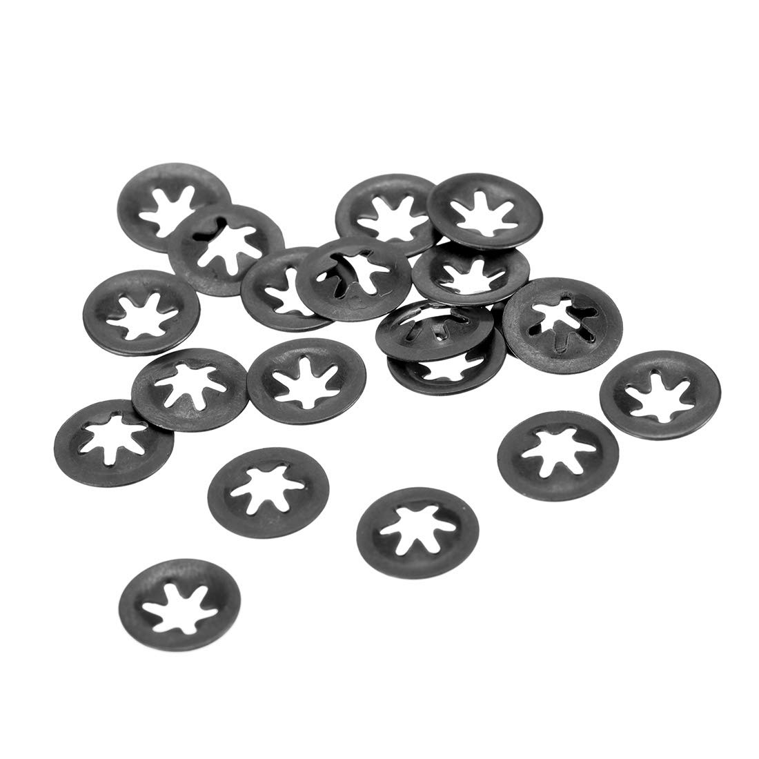 uxcell M3 Star Ranking TOP16 Locking Washer 2.5mm I.D. Tooth Internal O.D. New sales 9mm