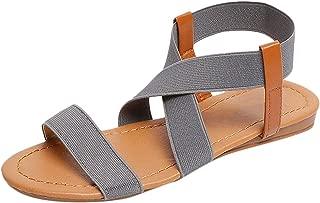 Surprise S Flat Sandals Women Comfortable Platform Women's Shoes Ladies Sandals for Beach