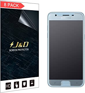 J&D Compatible for 8-Pack Galaxy J3 2018/J3 V 3rd Gen/J3 Achieve/J3 Star/Amp Prime 3 Screen Protector, [Anti-Glare] Matte Film Shield Screen Protector for Samsung Galaxy J3 2018 Matte Screen Protector