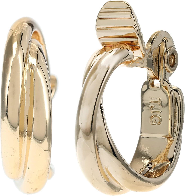 LAUREN Ralph Lauren Twisted Clip Hoop Earrings