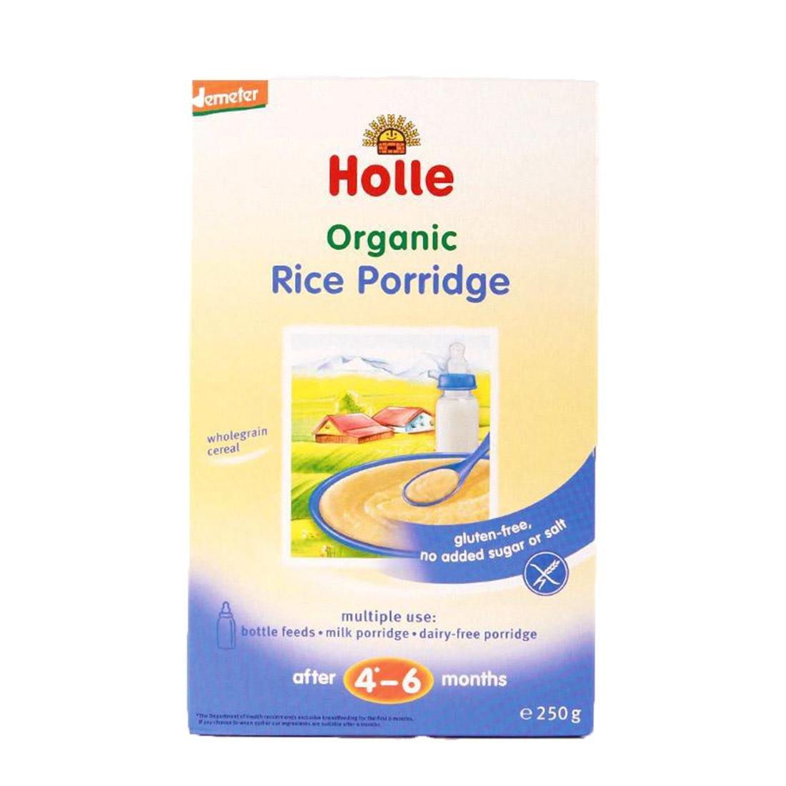 Spring new work Holle Dem Sale Cereal Rice 250G HOLLE Porridge by