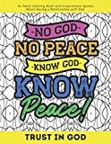 Trust In God: A Coloring Book For Adults: Inspirational Quotes About Having A Relationship With God. Very relaxing and reassuring. Makes a great gift ... goodness. Be inspired to know God better.