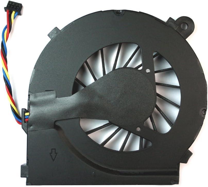 Power4Laptops Ventilador para Ordenadores portátiles 4 Pin Modelo Compatible con HP Pavilion G6-1208eu