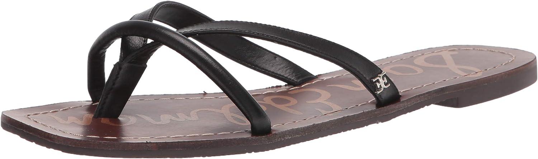 Our shop OFFers the best service Sam Cheap bargain Edelman Women's Flat Abbey Sandal