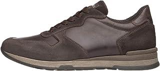 Nero Giardini A800460U Sneakers Uomo in Pelle E Camoscio