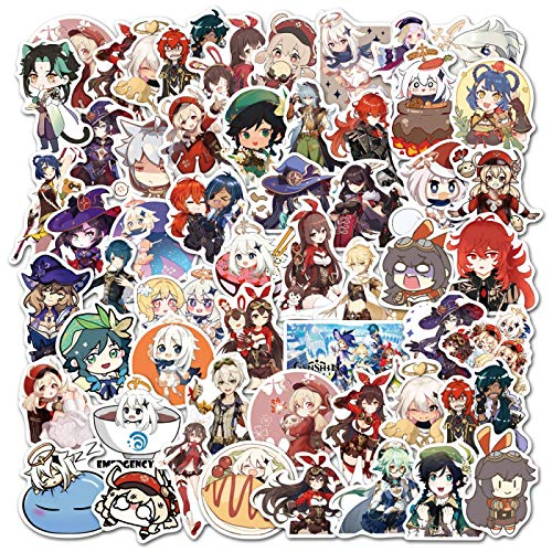 Later Original Dios Dios Anime Graffiti Pegatina Equipaje Trolley Case Notebook Phone Case Sticker 50PCS