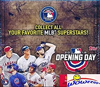 2018 topps opening day baseball cards